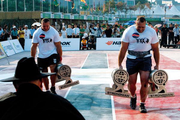세계 스트롱맨 선발대회
