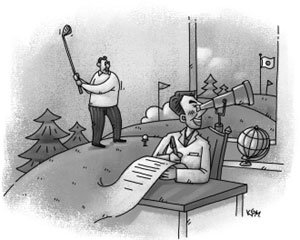 회원제 골프장의 위험성