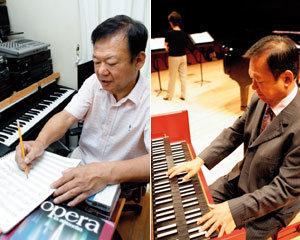 작곡가 이영조 - 텃밭 가꾸기