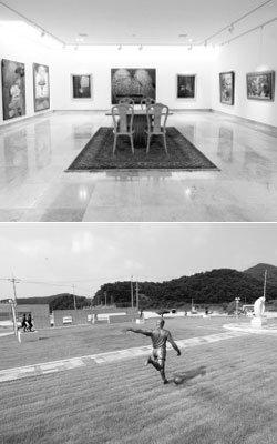 '파친코 대부'에서 미술관 대표로 변신한 황선주