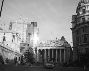 국제 금융 허브  런던 '더 시티'