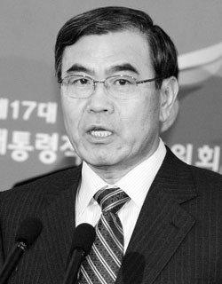 이상희 국방부 장관