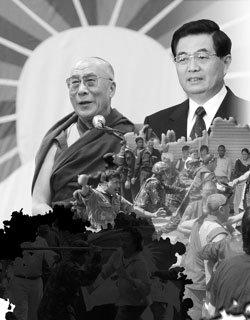 中 민족문제 화약고, 티베트 사태의 진실