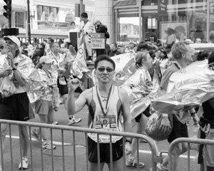 54세 고승철 기자, 보스턴 마라톤 뛰다!