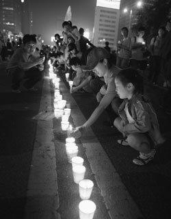 촛불시위 연행자들의 辯 '내가 거리에 나간 까닭'