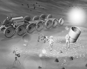 달 먼지로 망원경 만든다?