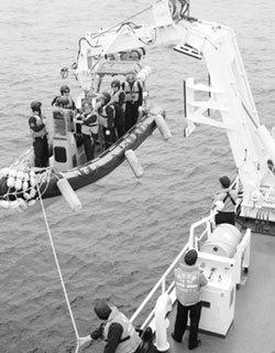'무법자' 중국어선 쫓는 해경  1509 경비함 3박4일 동승기