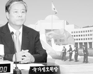 내우외환 '김성호 국정원'
