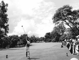 골프 칠 때 느껴지는 '소닉 붐'