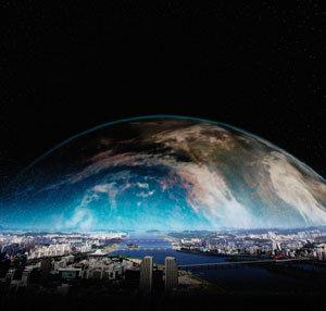 미래학 석학 짐 데이터 교수의 '한강 상상'
