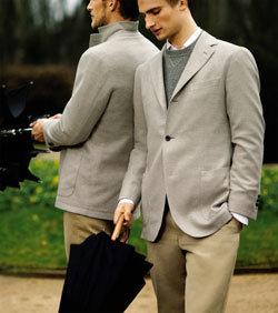 봄, 남자는 니트를 입는다