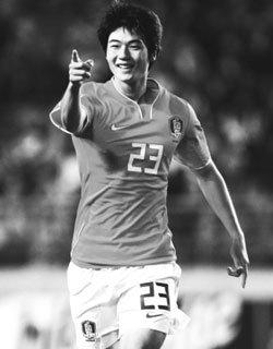 한국 축구 새 아이콘 기성용