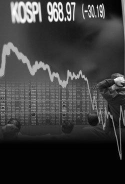 경제위기 칼날 위에 선 부자들