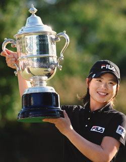 지은희 LPGA US여자오픈 우승