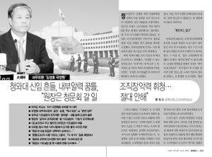 신동아 2008년 11월호 '내우외환 김성호 국정원' 기사 그 후