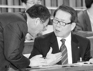 좌파논리로 우파정책에 반기 든  정형근 국민건강보험공단 이사장