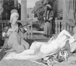 성 노예 오달리스크의 비애