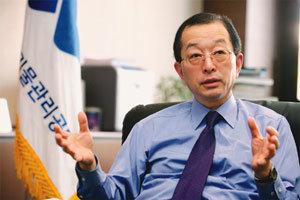 방폐장에'테마파크' 조성하는 방사성폐기물관리공단 이사장 민계홍