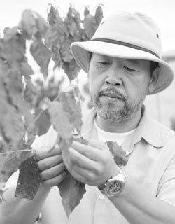 지구 온난화가 반가운 '커피 농부' 박종만