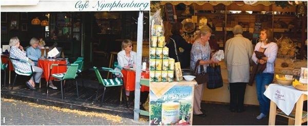 맥주와 꽃, 그리고 6인승 유모차 … 독일 뮌헨 빅투알리엔 시장