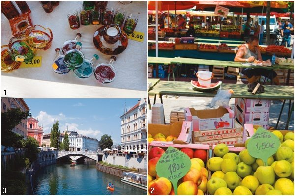 참 아름다운 곳 슬로베니아 류블랴나 시장