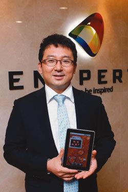 국내 최초 태블릿PC '아이덴티티 탭' 선보인 이창석 엔스퍼트 대표