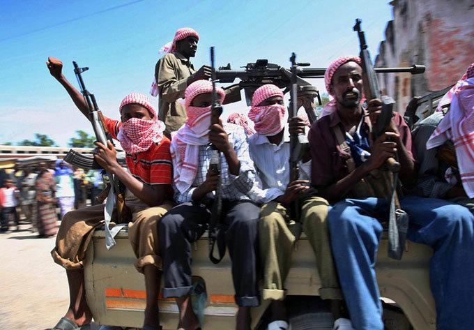 '소말리아 해역의 해적활동'