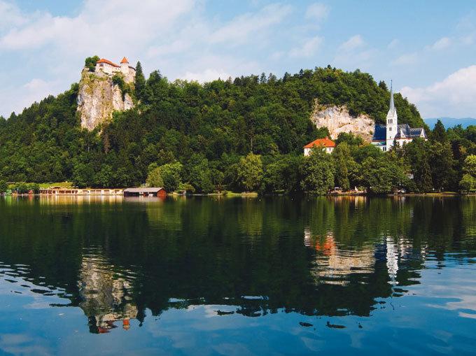 동화 같은 마을 슬로베니아 블레드