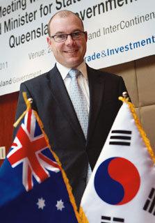 한국과 호주 간 경제협력 다지는 앤드루 프레이저 호주 퀸즐랜드주 재무·통상장관