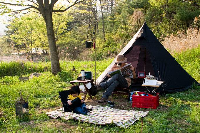 캠핑 인구 100만명 시대, '가족 여행'이 뜬다