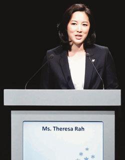 '더반의 여신' 평창유치위  나승연 대변인