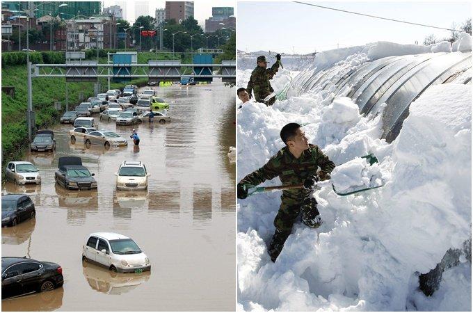 """""""2100년이면 겨울 절반으로 줄고 평균 기온 4℃ 오른다"""""""