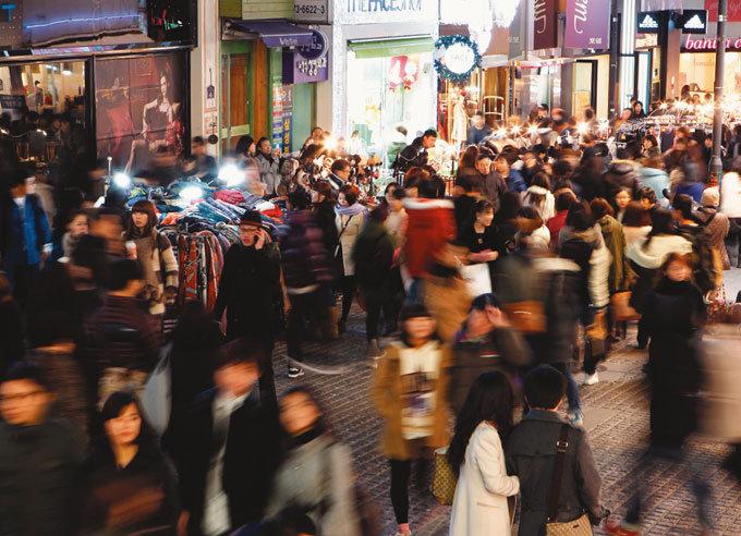 관광과 쇼핑의 명소