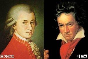 '천재' 모차르트와 '악성' 베토벤 그 빛과 그림자