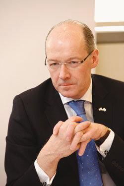 한국 기업 투자 유치 위해 방한한 존 스위니 스코틀랜드 재무장관
