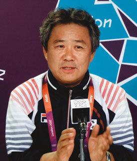 이기흥 런던 올림픽 선수단장