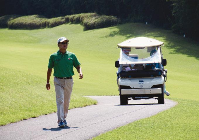 """""""골프가 위기에 빠진 나를 건졌다"""""""