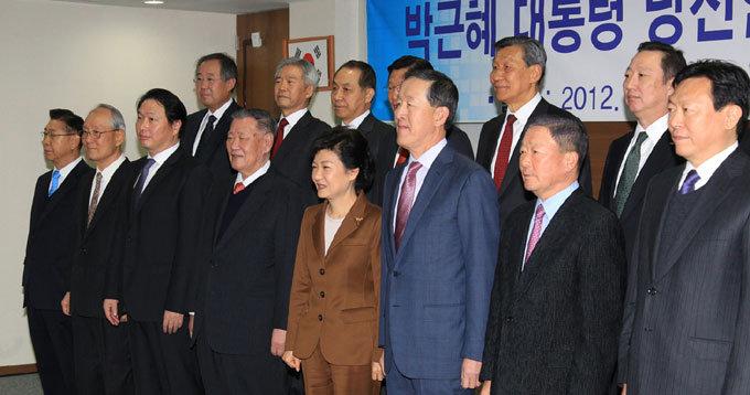 광폭 경제인맥으로 재벌-中企 투 트랙 줄타기