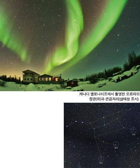 새 생명 잉태하는 밤하늘 봄비