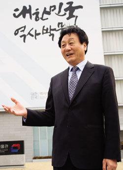 대한민국역사박물관 초대 관장 김왕식