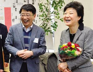 박 대통령이 첫 방문한 벤처기업 '알티캐스트' 대표 강원철