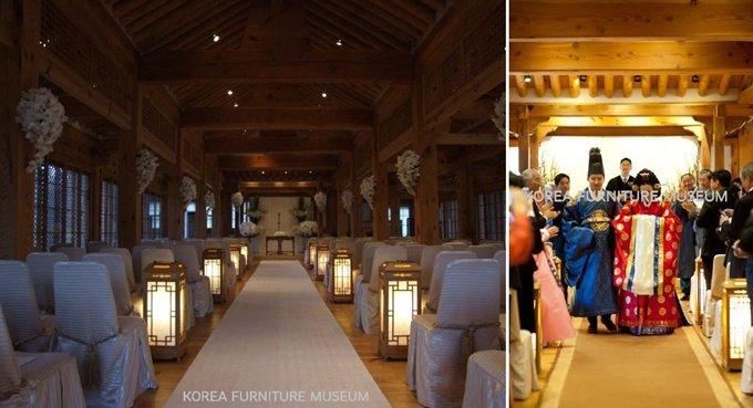 특급호텔보다 비싼 성북동 가구박물관에서 '작은 결혼식'?