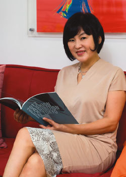 일본에서 한류 패션디자인展 한국패션디자인학회장 김혜경
