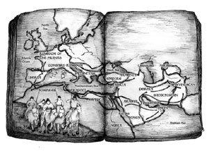 로마 멸망 후 지중해 유린 교역 위축되자 내륙 약탈