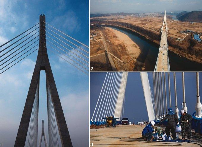 선진 교량건설 기술 집약 남-북 잇는 통일 다리