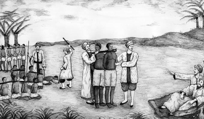 유럽 노예시장 주무르다 미 해군 강공(强攻)에 소멸