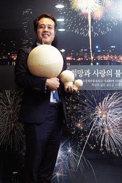 '화약 한화' 명맥 잇는 불꽃팀 매니저  문범석