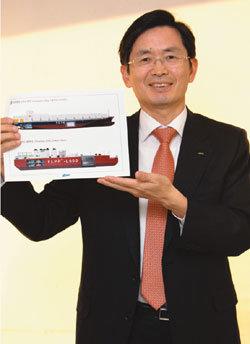 LNG 선박 개발 공로 협성사회공헌상 수상 이영만 (주)디섹 대표