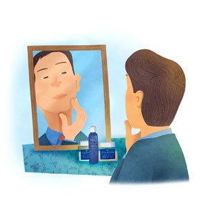1m 앞 거울 속 얼굴 들여다본 적 있나요