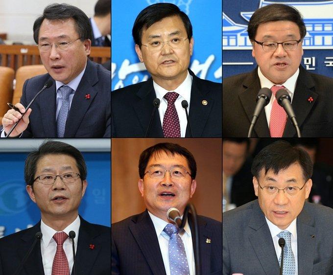 방하남·서승환·안종범 '양호' 류길재·백승주·홍기택 '미달'